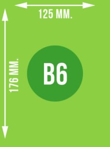 Format B6 wymiary w mm.