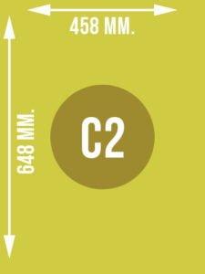 Format C2 wymiary w mm.