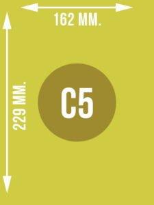 Format C5 wymiary w mm.