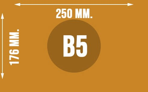 Wymiary koperty w formacie B5