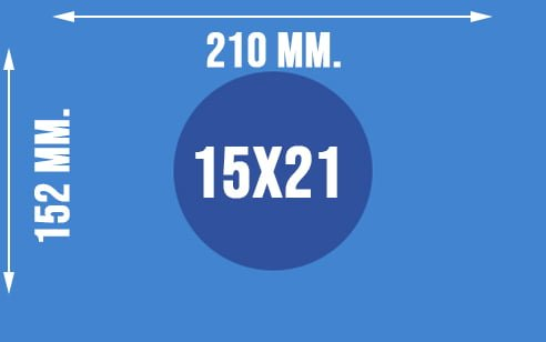 Dokładne wymiary papieru fotograficznego 15x21