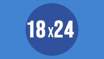 Format papieru fotograficznego 18x24