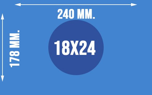 Wymiary papieru fotograficznego formatu 18x24
