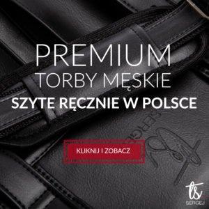 Torby męskie szyte w Polsce - SERGEJ